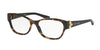 Ralph Lauren RL6151 Square Eyeglasses  5010-TOP TORTOISE ON BLACK 52-16-140 - Color Map havana