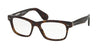 Ralph Lauren RL6153P Square Eyeglasses  5003-DARK HAVANA 55-18-145 - Color Map havana