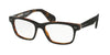 Ralph Lauren RL6153P Square Eyeglasses  5260-BLACK/HAVANA 55-18-145 - Color Map black