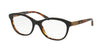 Ralph Lauren RL6157Q Butterfly Eyeglasses  5260-TOP BLACK/HAVANA JL 53-18-140 - Color Map black
