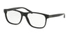 Ralph Lauren RL6158 Square Eyeglasses  5001-BLACK 56-17-150 - Color Map black