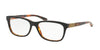 Ralph Lauren RL6159Q Pillow Eyeglasses  5260-TOP BLACK/HAVANA JL 52-16-140 - Color Map black