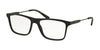 Ralph Lauren RL6181 Rectangle Eyeglasses  5001-MATTE BLACK 56-17-145 - Color Map black