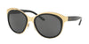 Ralph Lauren RL7051 Irregular Sunglasses  900487-SHINY GOLD 58-19-140 - Color Map gold
