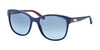 Ralph Lauren RL8123 Square Sunglasses  54598F-BLU NAVY 56-18-140 - Color Map blue