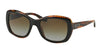 Ralph Lauren RL8132 Square Sunglasses  5260T5-TOP BLACK/HAVANA 55-21-140 - Color Map black