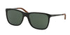 Ralph Lauren RL8133Q Square Sunglasses  500171-BLACK 57-18-140 - Color Map black