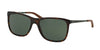 Ralph Lauren RL8133Q Square Sunglasses  500371-DARK HAVANA 57-18-140 - Color Map havana