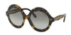 Ralph Lauren RL8140 Round Sunglasses  501011-TOP SPOTTY HAVANA/BLACK 54-21-140 - Color Map havana