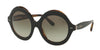 Ralph Lauren RL8140 Round Sunglasses  52608E-TOP BLACK ON JERRY HAVANA 54-21-140 - Color Map black