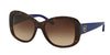 Ralph Lauren RL8144 Butterfly Sunglasses  500313-SHINY DARK HAVANA 56-18-140 - Color Map havana