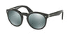 Ralph Lauren RL8146P Phantos Sunglasses  567140-BLACK LIZARD 49-22-145 - Color Map black