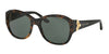 Ralph Lauren RL8148 Square Sunglasses  501071-TOP TORTOISE ON BLACK 55-19-135 - Color Map havana