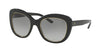 Ralph Lauren RL8149 Butterfly Sunglasses  500111-BLACK 53-20-140 - Color Map black