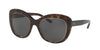 Ralph Lauren RL8149 Butterfly Sunglasses  500387-DARK HAVANA 53-20-140 - Color Map havana