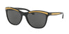 Ralph Lauren RL8150 Square Sunglasses  500187-BLACK 56-19-140 - Color Map black