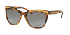 Ralph Lauren RL8150 Square Sunglasses  561511-GOLD HAVANA 56-19-140 - Color Map havana