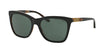 Ralph Lauren RL8151Q Square Sunglasses  526071-TOP BLACK/HAVANA JL 55-17-140 - Color Map black