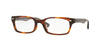 Ray-Ban Optical RX5150F Rectangle Eyeglasses  5607-STRIPED HAVANA 52-19-135 - Color Map havana
