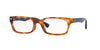 Ray-Ban Optical RX5150F Rectangle Eyeglasses  5609-YELLOW TORTOISE 52-19-135 - Color Map havana