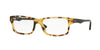Ray-Ban Optical RX5245 Square Eyeglasses  5608-YELLOW HAVANA 54-17-145 - Color Map havana