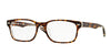 Ray-Ban Optical RX5286F Square Eyeglasses  5082-TOP HAVANA ON TRANSPARENT 53-18-140 - Color Map havana