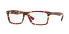 Ray-Ban Optical RX5287 Square Eyeglasses  5710-SPOTTED RED/BROWN/YELLOW 54-18-145 - Color Map havana