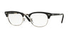 Ray-Ban Optical RX5334 Square Eyeglasses  2077-MATTE BLACK 51-21-145 - Color Map black