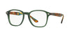 Ray-Ban Optical RX5352 Square Eyeglasses  5630-OPAL GREEN 50-19-145 - Color Map green