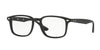 Ray-Ban Optical RX5353 Square Eyeglasses  2000-SHINY BLACK 52-19-145 - Color Map black
