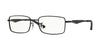 Ray-Ban Optical RX6284 Rectangle Eyeglasses  2503-MATTE BLACK 55-17-140 - Color Map black