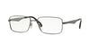 Ray-Ban Optical RX6329 Square Eyeglasses  2553-GUNMETAL 55-18-145 - Color Map gunmetal