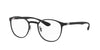 Ray-Ban Optical RX6355 Phantos Eyeglasses  2503-MATTE BLACK 50-20-145 - Color Map black
