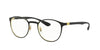 Ray-Ban Optical RX6355 Phantos Eyeglasses  2994-GOLD ON TOP MATTE BLACK 50-20-145 - Color Map black