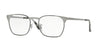Ray-Ban Optical RX6386 Square Eyeglasses  2901-GUNMETAL TOP BLACK 53-18-140 - Color Map black