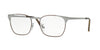 Ray-Ban Optical RX6386 Square Eyeglasses  2902-GUNMETAL TOP BROWN 53-18-140 - Color Map brown