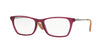 Ray-Ban Optical RX7053 Square Eyeglasses  5526-RUBBER VIOLET 54-17-140 - Color Map purple/reddish
