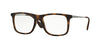 Ray-Ban Optical RX7054 Square Eyeglasses  5365-RUBBER HAVANA 51-17-140 - Color Map havana