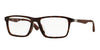 Ray-Ban Optical RX7056F Pillow Eyeglasses  2012-SHINY HAVANA 55-17-145 - Color Map havana