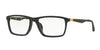 Ray-Ban Optical RX7056F Pillow Eyeglasses  2477-MATTE BLACK 55-17-145 - Color Map black