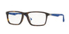 Ray-Ban Optical RX7056F Pillow Eyeglasses  5211-MATTE HAVANA 55-17-145 - Color Map havana