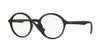 Ray-Ban Optical RX7075F Round Eyeglasses  5364-RUBBER BLACK 49-20-145 - Color Map black