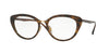 Ray-Ban Optical RX7088 Cat Eye Eyeglasses  2012-SHINY HAVANA 54-18-140 - Color Map havana