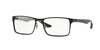 Ray-Ban Optical RX8415 Square Eyeglasses  2503-MATTE BLACK 55-17-145 - Color Map black