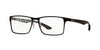 Ray-Ban Optical RX8415 Square Eyeglasses  2848-MATTE BLACK 55-17-145 - Color Map black