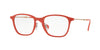 Ray-Ban Optical RX8955 Square Eyeglasses  5758-LIGHT RED GRAPHENE 53-19-145 - Color Map red