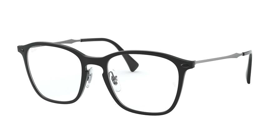 Ray-Ban Optical RX8955 Square Eyeglasses  8025-BLACK GRAPHENE 51-19-140 - Color Map black