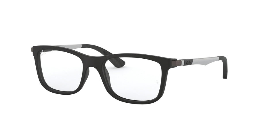 Ray-Ban Junior Vista RY1549 Square Eyeglasses  3633-MATTE BLACK 48-16-125 - Color Map black