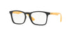 Ray-Ban Junior Vista RY1553 Square Eyeglasses  3724-BLACK 46-16-130 - Color Map black