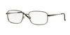 Sferoflex SF2197 Square Eyeglasses  231-MATTE GUNMETAL 52-18-140 - Color Map gunmetal